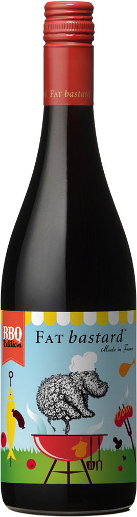 BBQ Edition Wine Bottle