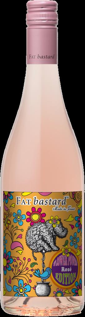 Flower Power Edition Wine Bottle