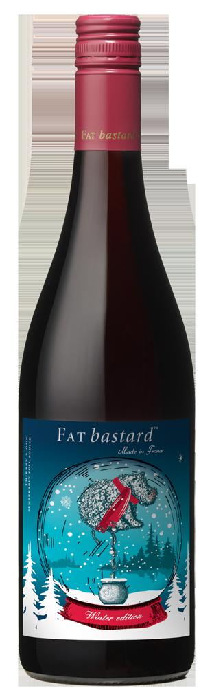 Winter Edition Wine Bottle